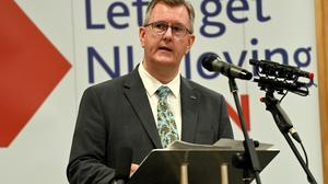 DUP leader Jeffrey Donaldson claims that he does not support compulsory vaccinations.