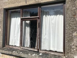 Some of the damage caused to Brantry Parish Church Hall in Co Tyrone