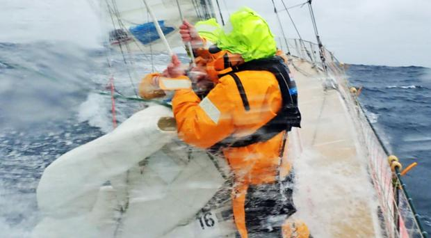 Jacqueline Kavanagh has signed up for the entirety of the Clipper Round the World Yacht Race