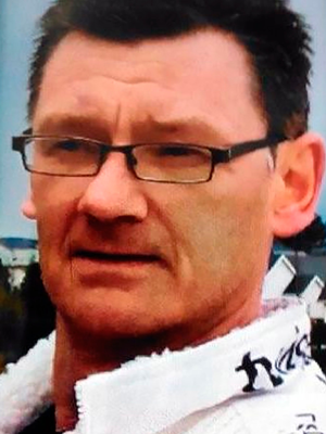 Des Mee was found outside Millers House apartment block in Newtownards
