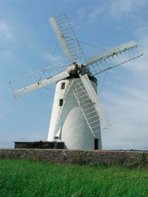 Ballycopeland Windmill, built to process grain in Millisle, Co Down, at the end of the 19th century, is Northern Ireland's only original working windmill