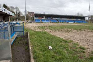 Institute Football Club in Drumahoe which was devastated in last year's floods