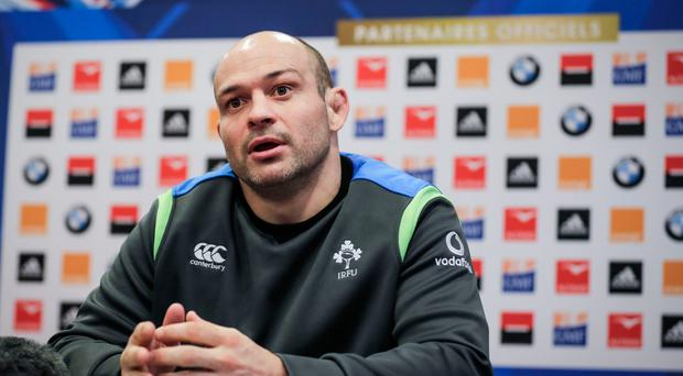 Ireland and Ulster rugby captain Rory Best