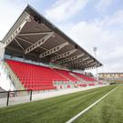 Derry City's Brandywell Stadium.