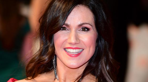 Breakfast wars: Susanna Reid