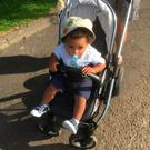 Toddler Ryan was subjected to racial abuse on the Falls Road
