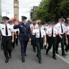 The PSNI at the Pride parade earlier this month