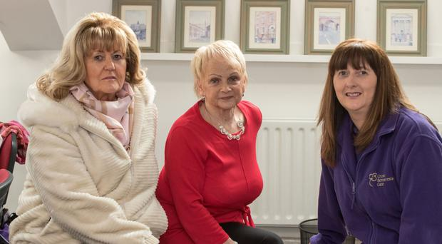 Frances Reynolds, Christine McGowan and Eleanor Ellerslie at the Beyond Words group