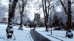 Snow is expected in Northern Ireland on Sunday.