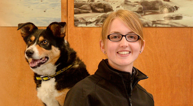 Stephanie Scott, the Home From Home coordinator at Dogs Trust Ballymena