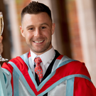 Jonathan Rea MBE toasts to his honorary doctorate