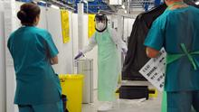 A person in Belfast is being tested for Ebola