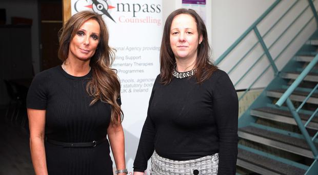 Compass Counselling directors Mandy McDermott and Sheree Irwin