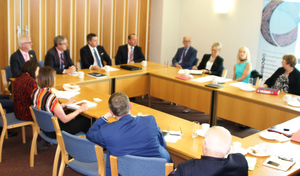 Retail NI's meeting with the Policing Board