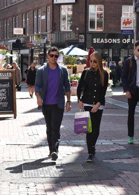 Rory and Erica shopping in Dublin