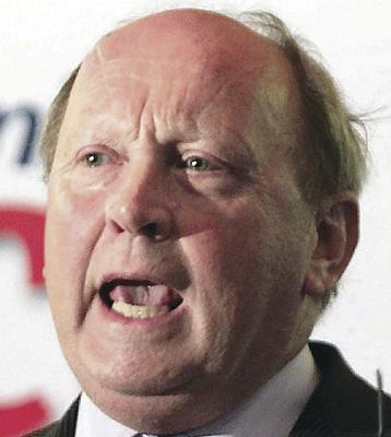 Angry outburst: Jim Allister