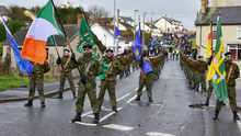 A dissident display in Coalisland in 2016