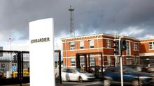 Bombardier's base in Belfast