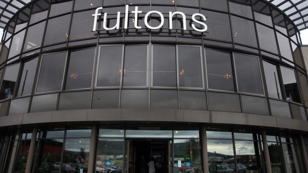 The former Fultons Fine Furnishing premises on Boucher Road, Belfast