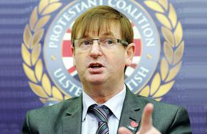 Speaking out: Loyalist campaigner Willie Frazer