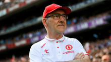 Champion: Mickey Harte led Tryone to three GAA All-Ireland titles