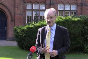 Education Minister Peter Weir has said that exams represent the most valid and reliable method of assessment (Rebecca Black/PA)