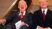 Ian Paisley and Martin McGuinness during the period they shared the First Ministers' offices at Stormont