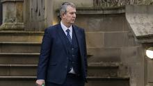 Edwin Poots has vowed to continue his ministerial duties (Liam McBurney/PA)