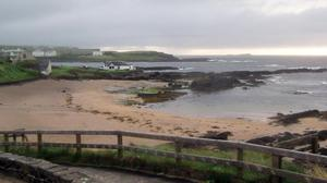 Portballintrae which is proving popular with people visiting the north coast