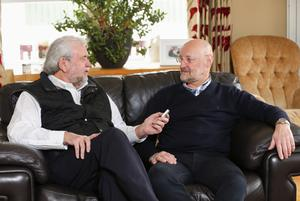 Journalist Ivan Little talks to Brian Henning at his Co Down home