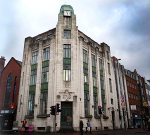The former Bank of Ireland headquarters on Royal Avenue