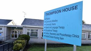 Thompson House in the grounds of Mid Ulster Hospital