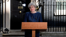 Theresa May announces a snap election for June 8