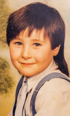 Colin aged four