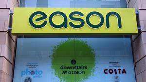 Book and stationary shop Eason has told its 144 employees it will not be reopening its stores in Northern Ireland (Paul Faith/PA)