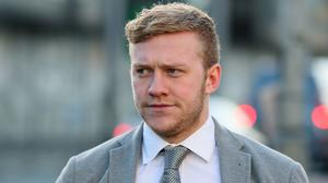 Ireland and Ulster rugby player Stuart Olding (Brian Lawless/PA)