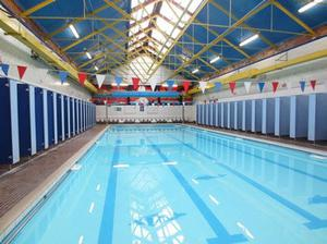 The current pool at Templemore Baths