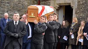 The funeral of Rev Canon Mark Watson takes place in Christchurch, Maguiresbridge