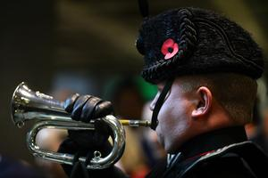 Solo buglers are expected to sound The Last Post on the anniversary of VE Day (Aaron Chown/PA)