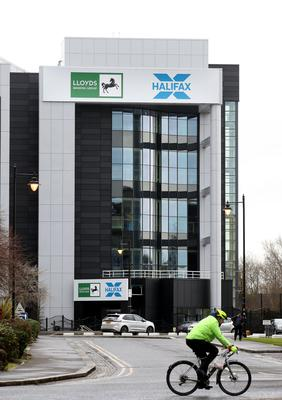 A Halifax call centre in Belfast city centre which has been temporarily closed over coronavirus