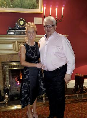 Noel Brady and his wife Barbara from Co Down