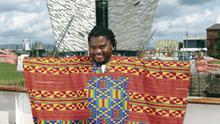 African drummer Wilson Magwere is one of a host of artists and entertainers set to play Belfast Mela