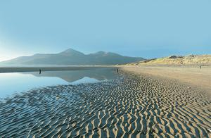 The beach at Murlough National Nature Reserve