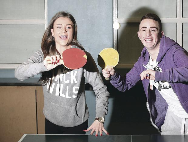 Sammy-Jo Mills (15) and Patrick Waring (17) are Africa-bound