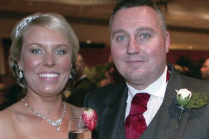 Rathcoole couple, Phil Hamilton and Claire Currie tied the knot on Saturday 18th January 2014 in the Clarion Hotel, Carrickfergus.
