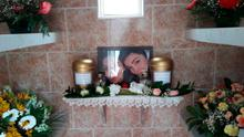 Giselle and Allison Marimon-Herrera's resting place in Portugal