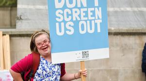 Disability rights activist Heidi Crowter has urged MPs not to approve Northern Ireland's abortion regulations after they were rejected by the Stormont Assembly (Heidi Crowter/PA)