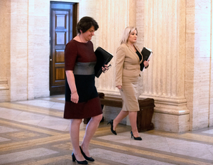 Relationships between Arlene Foster and Michelle O'Neill are now strained