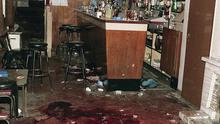 Heights Bar in Loughinisland after the shooting