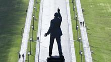 Edward Carson's Statue in the grounds of Stormont. (Niall Carson/PA)